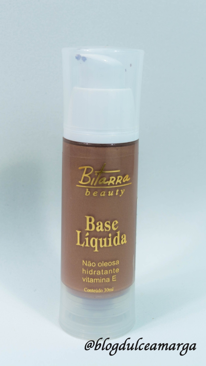 Resenha: Base liquida iluminadora - Bitarra